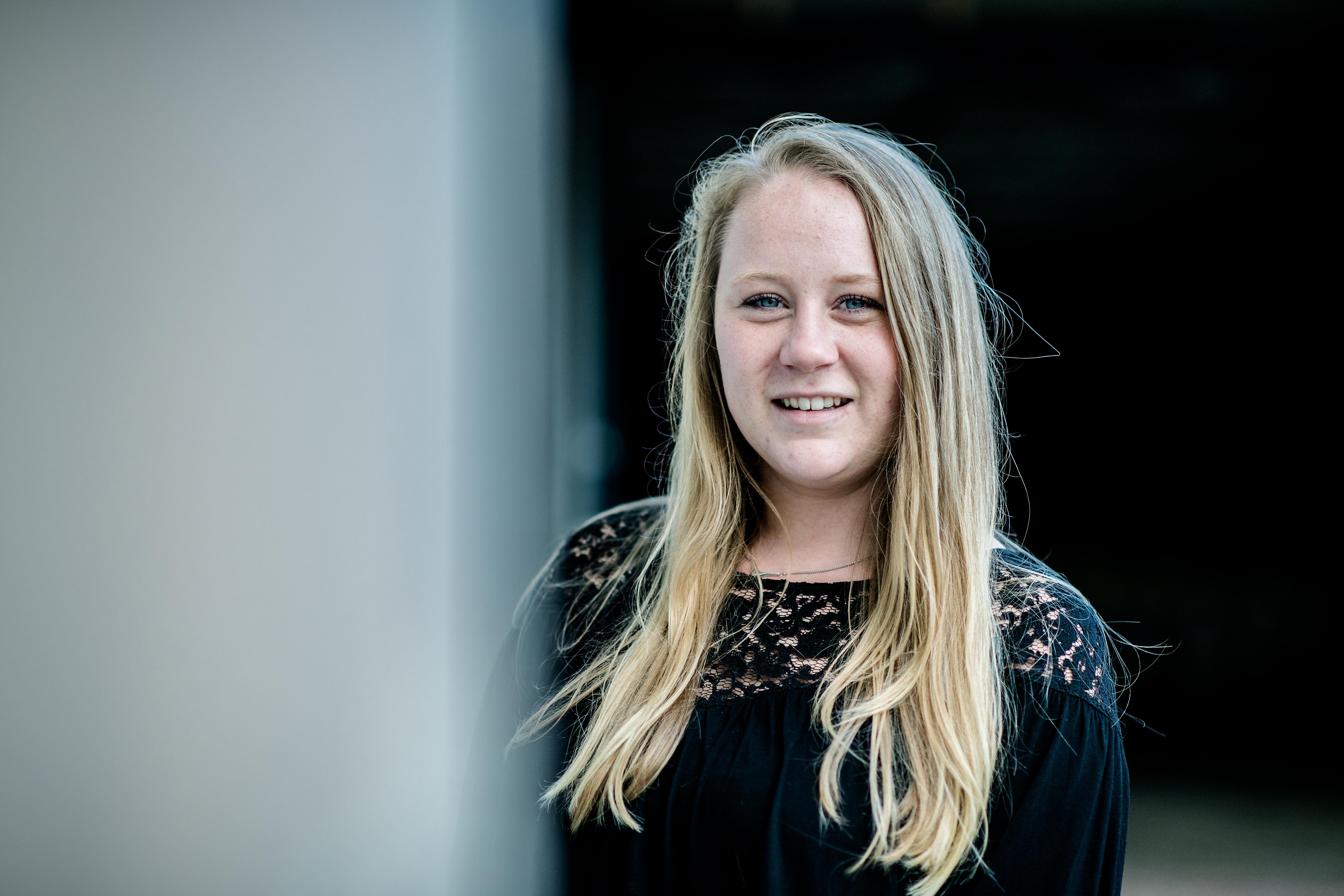Anoek van der Riet werkt bij Scherp Communicatie