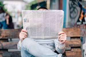 Een nieuwsbericht moet altijd oprolbaar zijn: het belangrijkste nieuws staat bovenaan